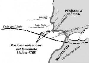 La Costa de Huelva se ha visto afectada por varios tsunamis.