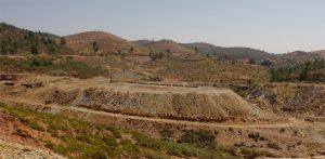 Imagen de la zona de la escombrera.