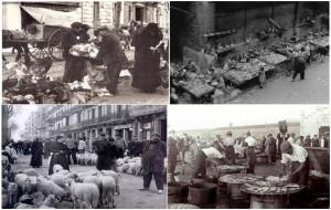 Imágenes de mercados al aire libre de finales del siglo XIX, obtenidas de http://mtvo-lasmentiras.blogspot.com.es/2012/03/mercats-antics-laire-lliure-arcelona23.html