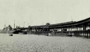 Muelle de la Compañía Minera de Riotinto. / Foto: IPCE.
