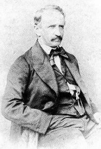 Guillermo Sundheim fue uno de los promotores del Hotel Colón y uno de los responsables del esplendor de Huelva a mediados del siglo XIX./Foto: wikipedia.org