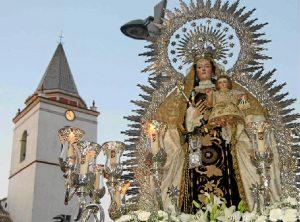 La Virgen del Carmen cumple 27 años como patrona de San Juan del Puerto.