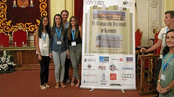 Buen papel de Huelva en la VI Olimpiada Española de Economía