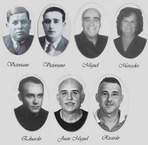 Los rostros de la tradición churrera de Huelva.