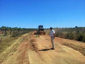 Inversión en caminos rurales.