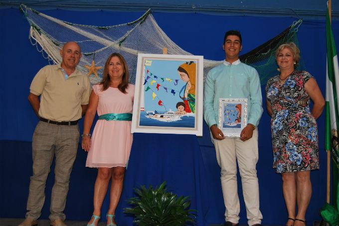 Presentan el cartel de las fiestas de la Virgen del Mar de Punta del Caimán