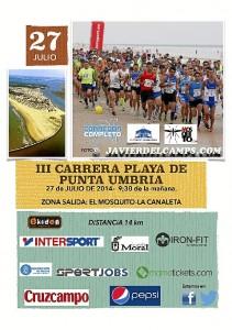 Carte 'Corredor Completo' Punta Umbría
