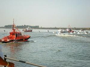 Salvamento Marítimo se dispone a escoltar la embarcación protagonista