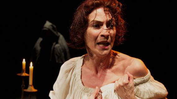 Juana la Loca, protagonista teatral en el castillo de Moguer