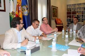 Reunión permanente del Patronato de Turismo.