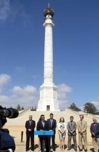 Inaugurada la Columna.
