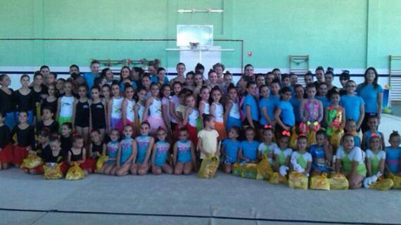 El Club Rítmico Colombino inicia este miércoles sus Escuelas de Verano en el Diego Lobato