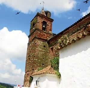 Iglesia de Santiago el Mayor en Castaño del Robledo.