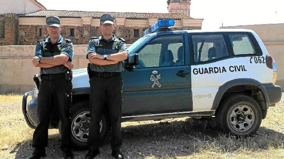 José Soria y Juan Ángel González, dos héroes anónimos para un vecino de Trigueros que sufrió un infarto mientras buscaba gurumelos en Paymogo
