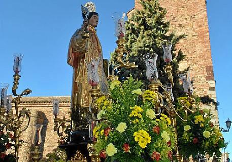 Zalamea se prepara para la procesión extraordinaria de San Vicente