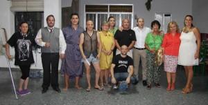 Participantes en el acto.