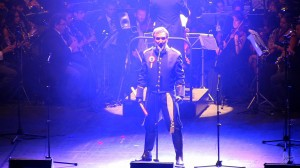 Capelo, en el espectáculo 'Los Miserables. En concierto'.