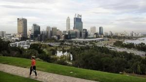 Imagen de la ciudad de Perth.