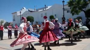 Una actuación en Villablanca.