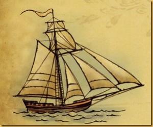 Barco que solía gustar a los corsarios al ser muy ligeros.