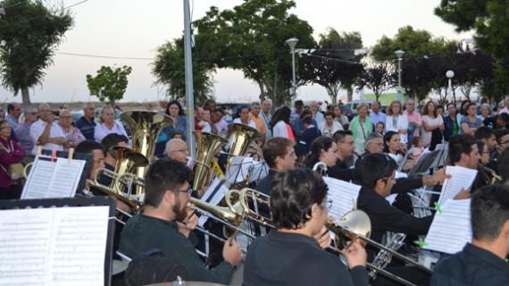 El ciclo 'Música por las barriadas'recibe a la Banda Municipal de Música de Punta Umbría