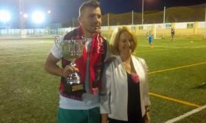 El Pinzón de Palos se llevó el trofeo 'Ciudad de Mazagón'.