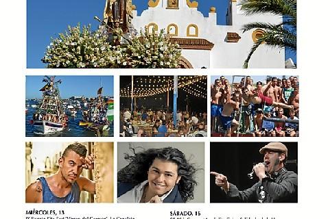Punta Umbría celebra a partir de este jueves su Feria del Carmen