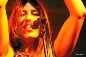 Concierto de Airyn la semana pasada en La Buhaira (Sevilla).