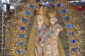 La Romería de Palos de la Frontera se celebra en honor de la Virgen de los Milagros, patrona de Palos.