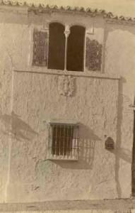 Detalle de un edificio particular de Lepe. / Foto: IPCE.