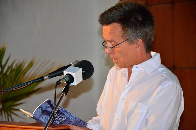 Diego Mesa, autor del libro.