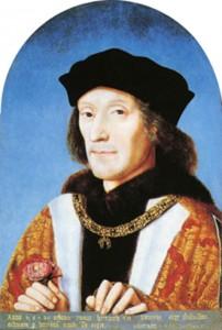 El rey Enrique VII, primer monarca de la dinastía Tudor.