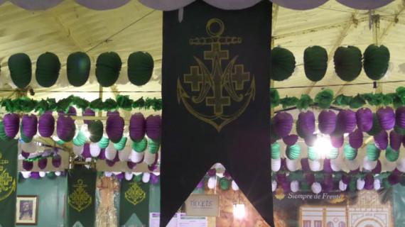 Las casetas de Semana Santa, todo un clásico del recinto colombino