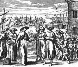 Negociaciones para liberar esclavos capturados por los piratas
