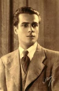 Antonio Llordén Fernández (Nerva), en una foto de antes de la guerra (Col. Santiago Talaya Llordén).