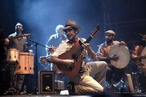 Raúl Rodríguez en una actuación./ Foto: Óscar Romero V. y Sitoh Ortega.
