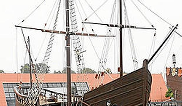 Las cuatro réplicas de barcos históricos salidas de los astilleros de Isla Cristina y Punta Umbría