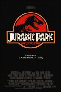 La película 'Parque Jurásico' puso de moda a los dinosaurios.