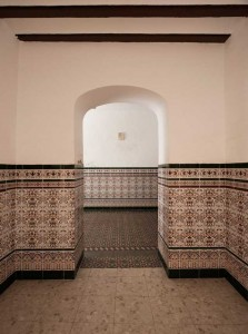 Pasillos del Casino de Paterna. / Imagen Fotoespacios.