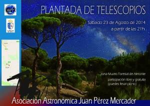 Plantada de telescopios 2014