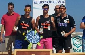 Rubén Gutiérrez, en el podio con los mejores.