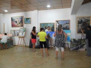 Exposición de pintura.