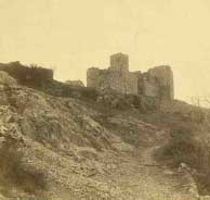 Castillo de Cortegana. / Foto: IPCE.