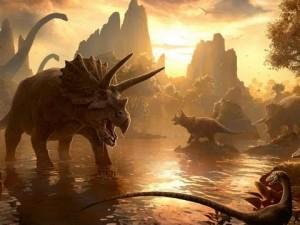Los dinosaurios dominaron el planeta hace 135 millones de años.
