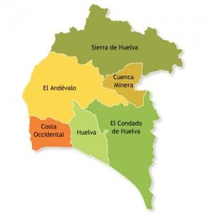 En el territorio que ocupa hoy la provincia de Huelva no aparecen rocas de aquella época.