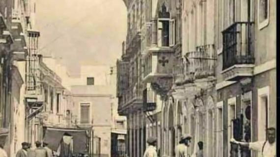 La calle Trajano de Ayamonte en la primera década del siglo XX