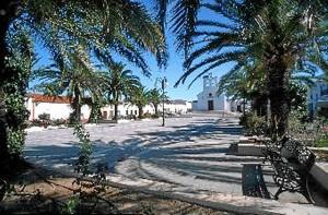 Plaza de España de San Silvestre.