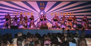 Actuación de la semana cultural de San Juan del Puerto.