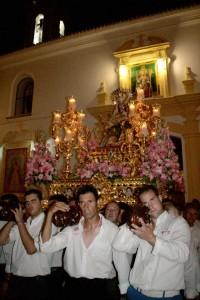 Procesión de la Virgen de Consolación.