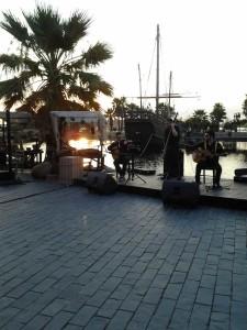 Balance de actividades en el Muelle de las Carabelas.